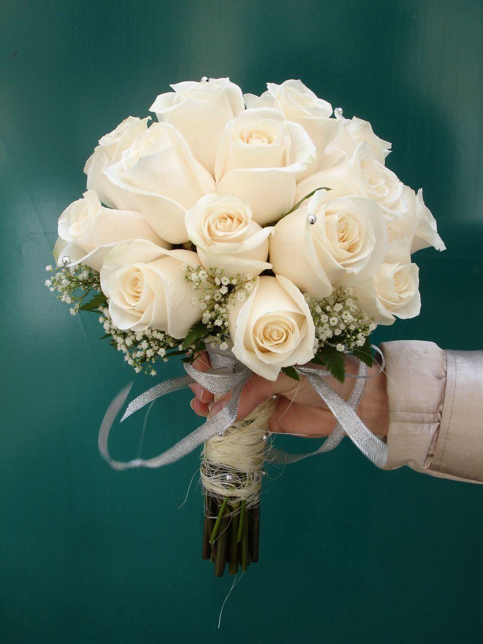 Свадебный букет только из гипсофила, купить лилии цветы цена